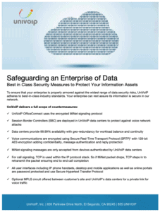 Safeguarding an Enterprise of Data